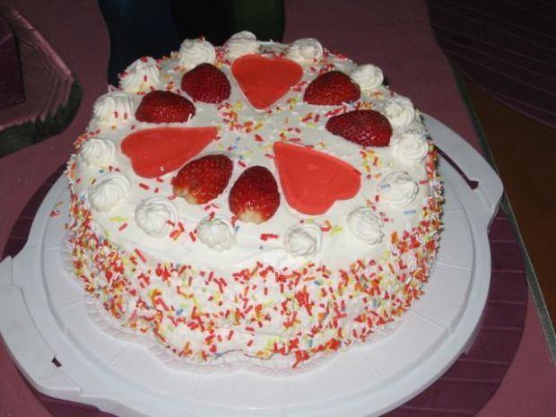 Hiszpański tort bezowy