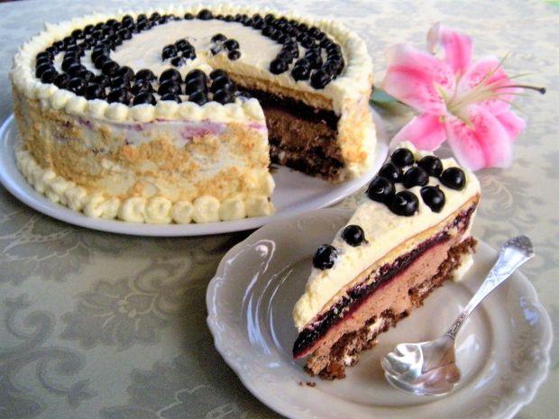 Imieninowy tort porzeczkowy
