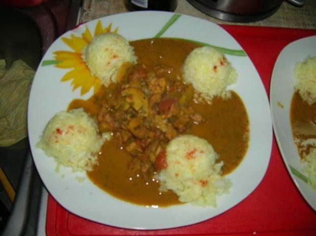 Indyjskie curry z kurczakiem