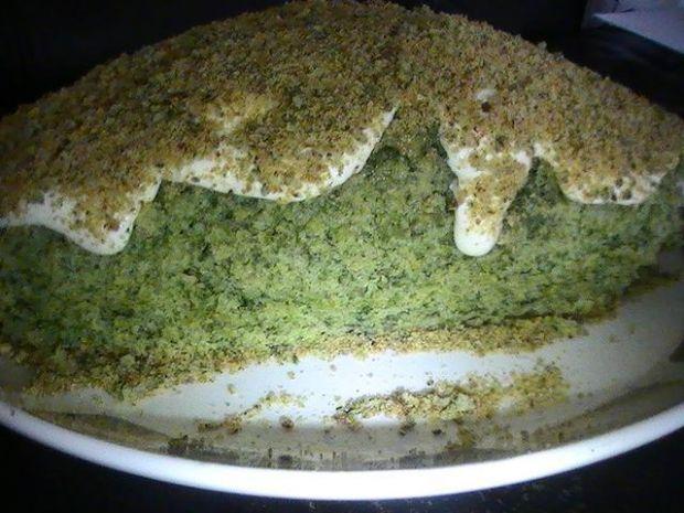 Ispanak kek - ciasto szpinakowe