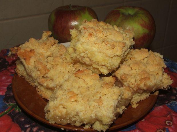 Jabłecznik z kruszonką