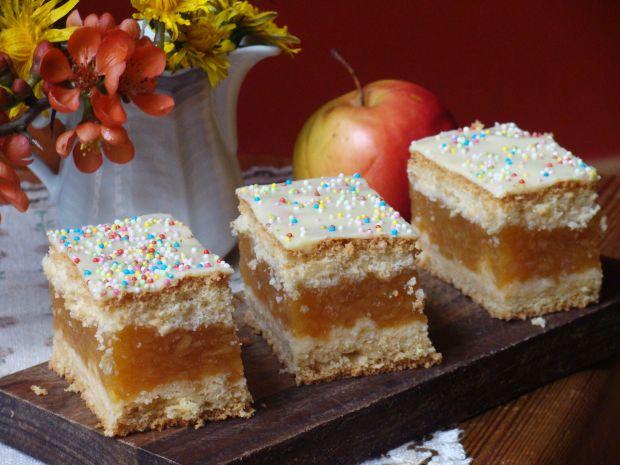 Jabłecznik z prażonymi jabłkami