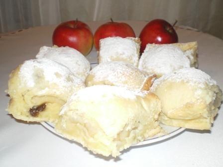 Jabłka pieczone w cieście