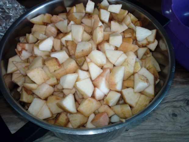 Jabłka w słoikach pasteryzowane