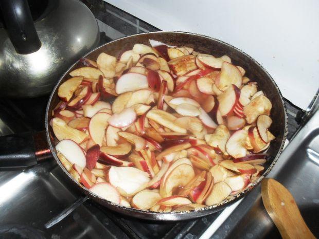 Jabłka z karmelem