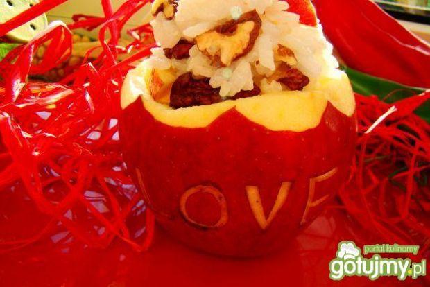 Jabłko z ryżem