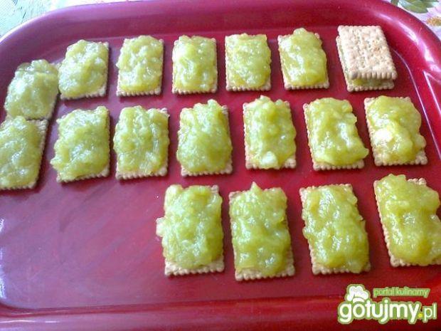 Jabłkowe ciastka z herbatników