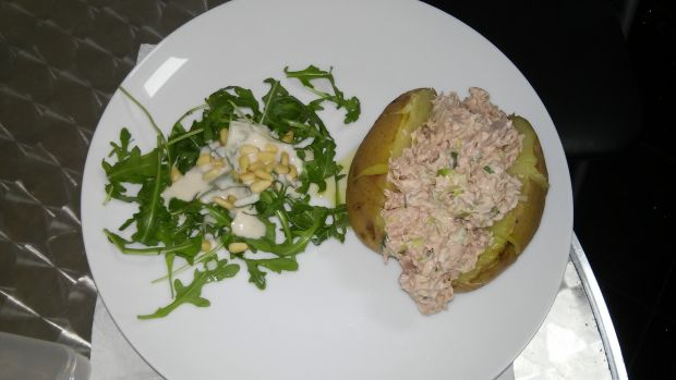 Jacket Potatoes z tuńczykiem