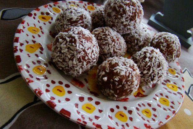 Jaglane praliny - ciasteczka czekoladowe jaglane