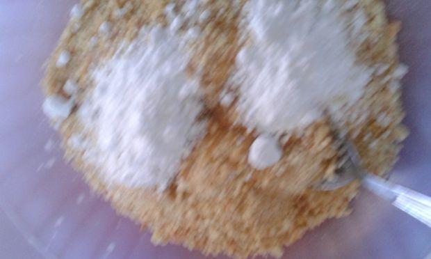 Jagodowy sernik na zimno