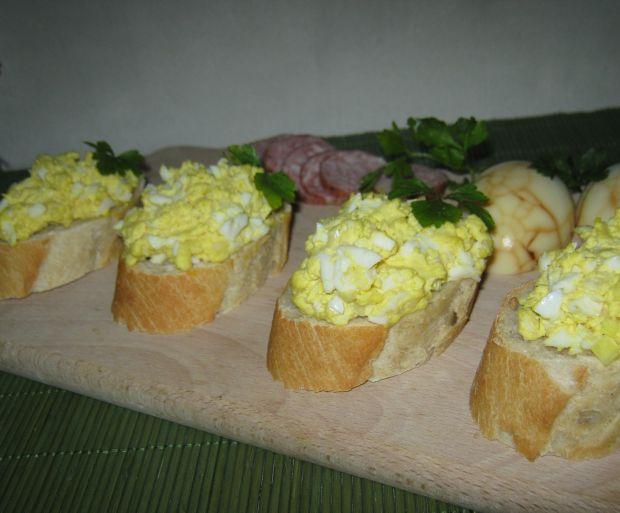 Jajeczna pasta na kanapki