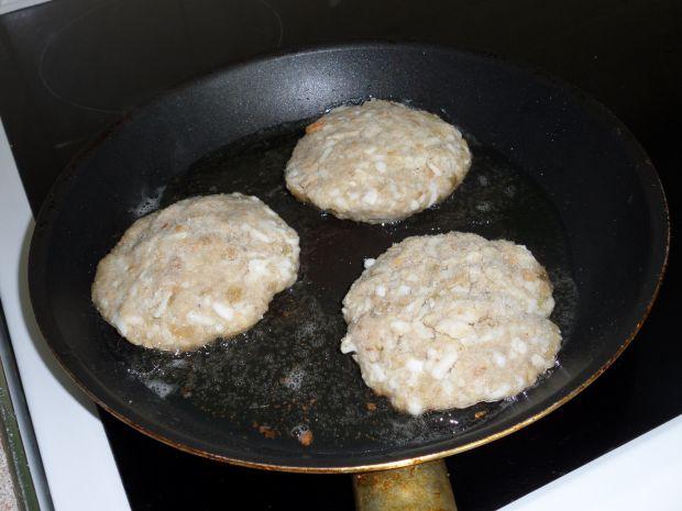 Jajeczne burgery
