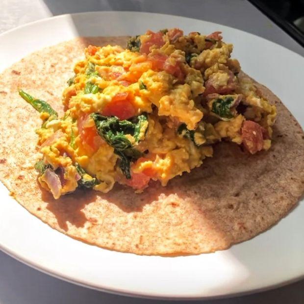 Jajecznica po meksykańsku
