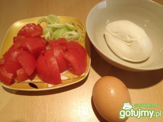 Jajecznica z mozarellą