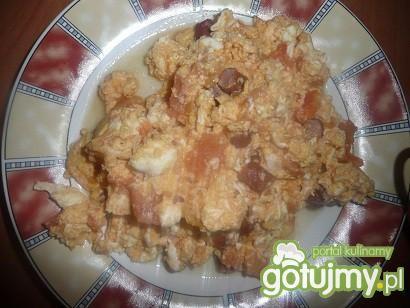 jajeczniczka z pomidorami