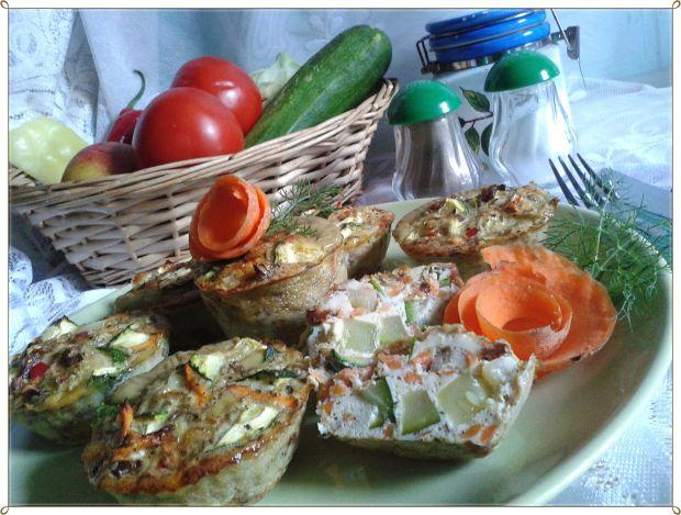 Jajeczno-warzywne muffinki