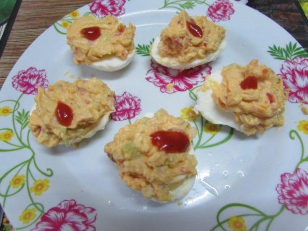 Jajka faszerowane z mielonym