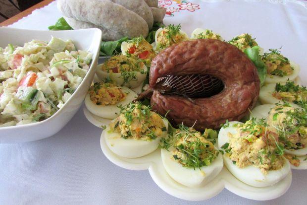 Jajka faszerowane z rzeżuchą