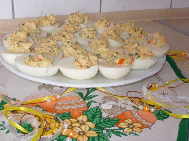 Jajka faszerowane ze szczypiorkiem