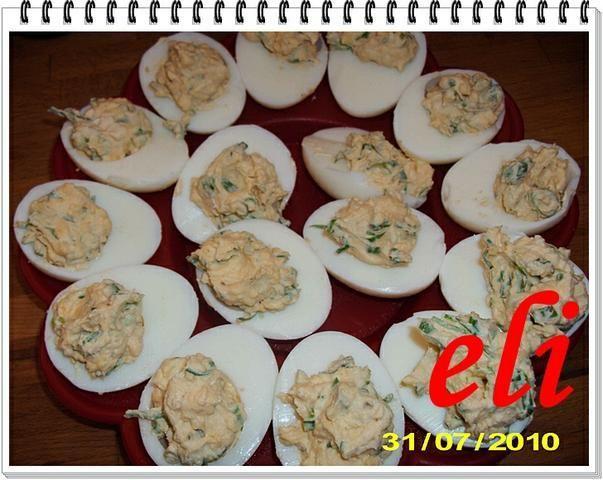 Jajka faszerowane ze szczypiorkiem Eli