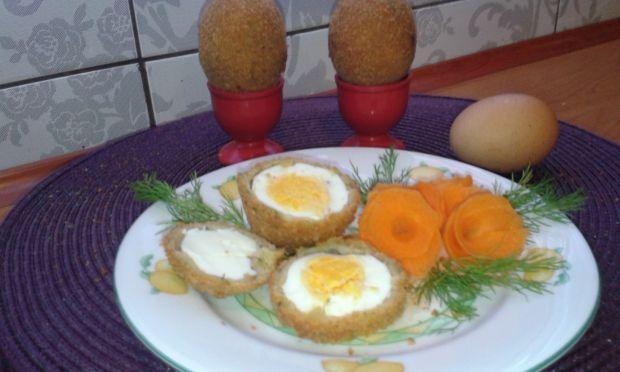 Jajka na twardo w panierce