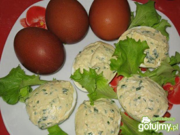Jajka nadziewane farszem musztardowym