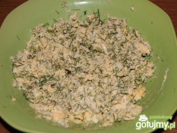 Jajka smażone w vafini :