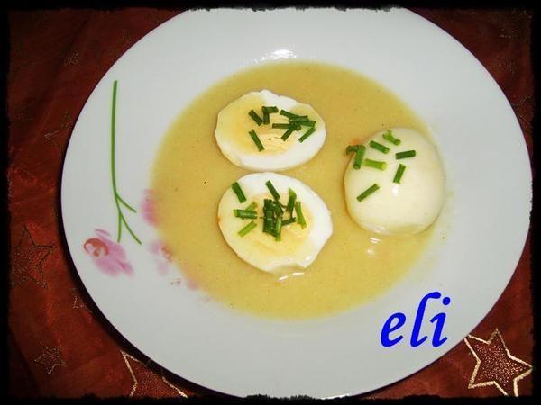 Jajka w sosie chrzanowo-musztardowym Eli