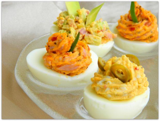 Jajka w trzech smakach