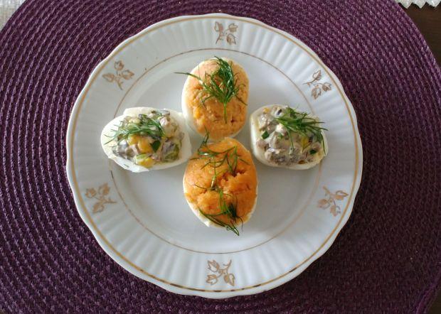 Jajka z farszem z makreli