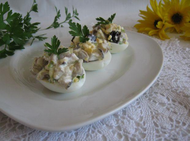 Jajka z grzybowym farszem