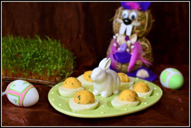 Jajka z makrelą