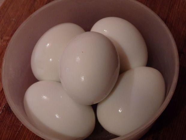 Jajka z pastą chrzanową