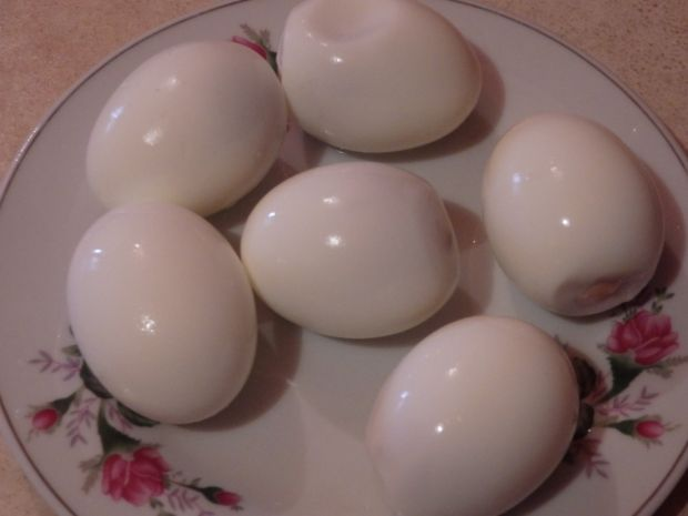Jajka z pastą sardynkową
