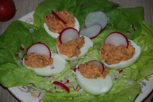 Jajka z rybnym nadzieniem