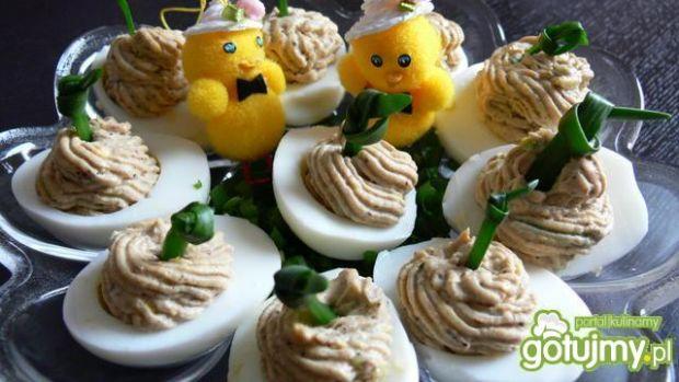Jajka z sardynkową pastą