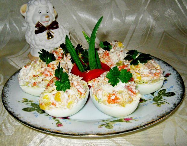 Jajka z tuńczykowym smaczkiem