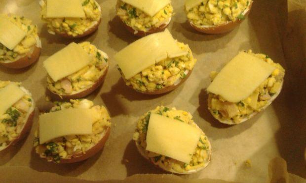 Jajka zapiekane w piekarniku