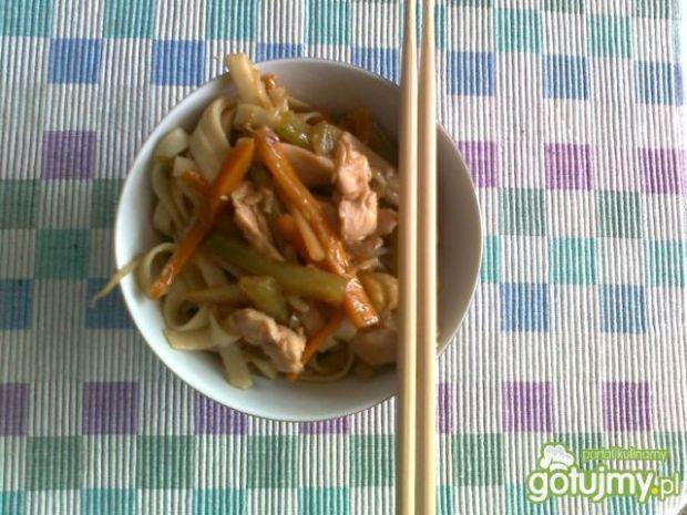Japanese noodles-makaron po japońsku