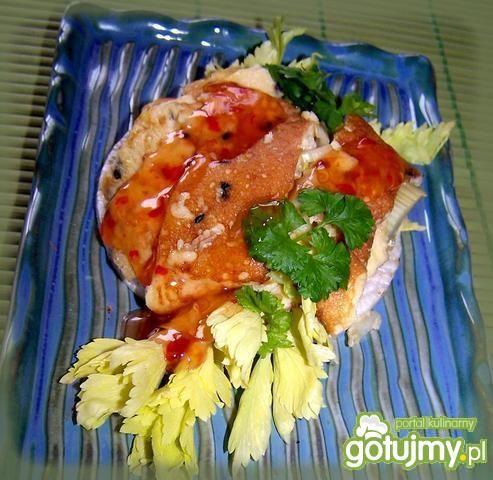 Japoński omlet na waflu Good Food