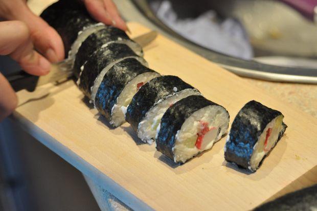 Japońskie sushi maki