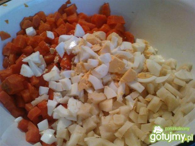 Jarzynowa z kukurydzą i groszkiem