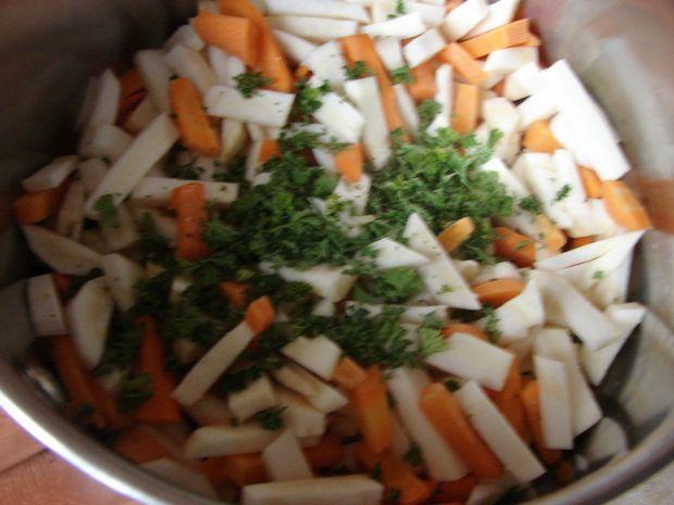 Jarzynowa z ryżem