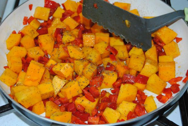 Jesienna tarta z dynią