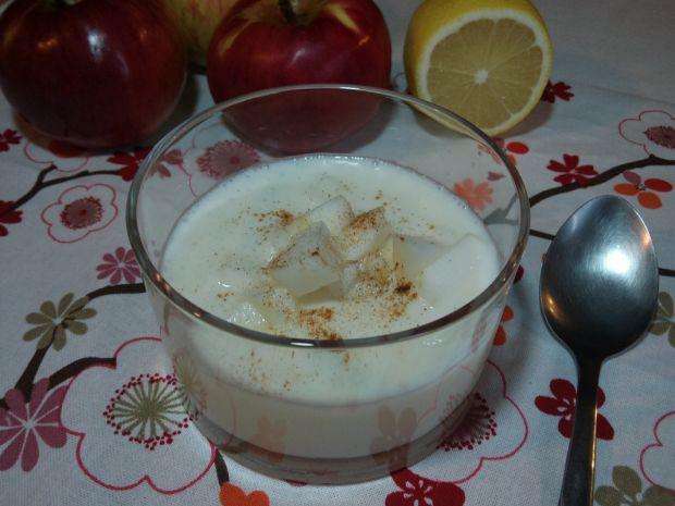 Jesienna zupa jabłkowa