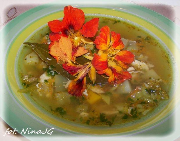 Jesienna zupa rybna