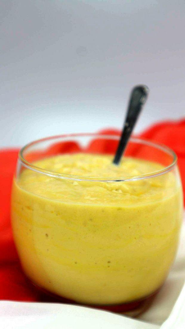Jogurt z papają i mango