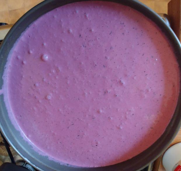 Jogurtowo - jagodowy tort lodowy (w wersji fit)