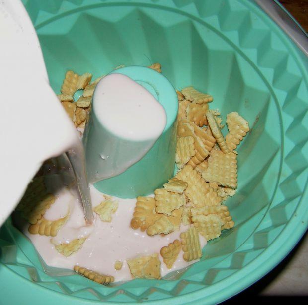 Jogurtowy pyszny deser