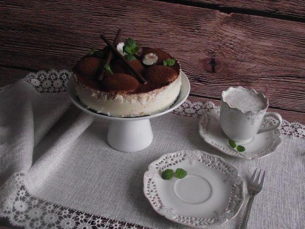Jogurtowy torcik na dzień Babci i Dziadzia